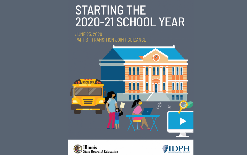 ISBE Part 3 of Phase 4 Return to School Guidance Released Today June 23