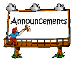 Daily Announcements 11/2/2020