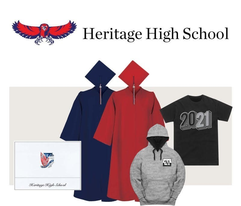 Heritage HS Herff Jones Class Sales