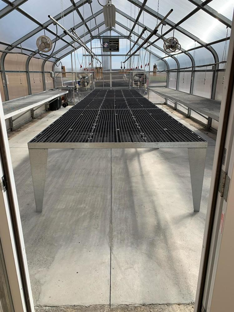 Heritage HS Greenhouse Upgrade October 2020